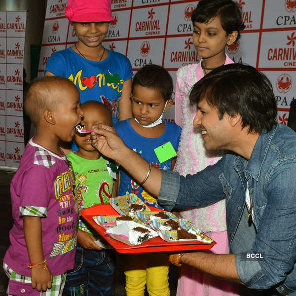 Vivek Oberoi at charity event