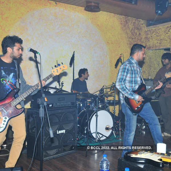 Ganesh Talkies performs in the city