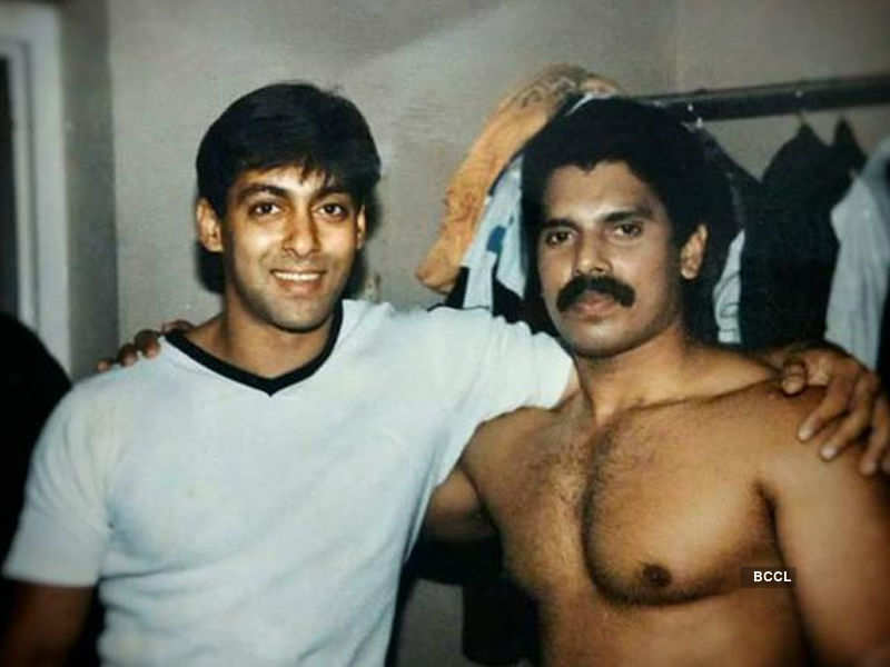 Salman Khan's teenage picture