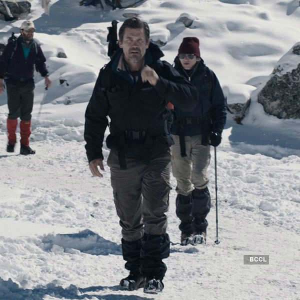 A still from the movie Everest