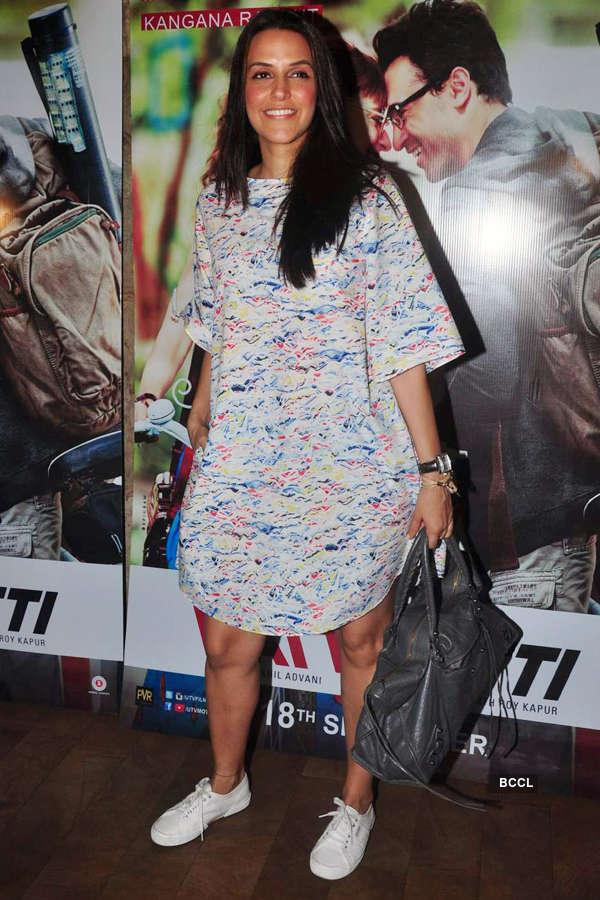 Neha Dhupia during the screening