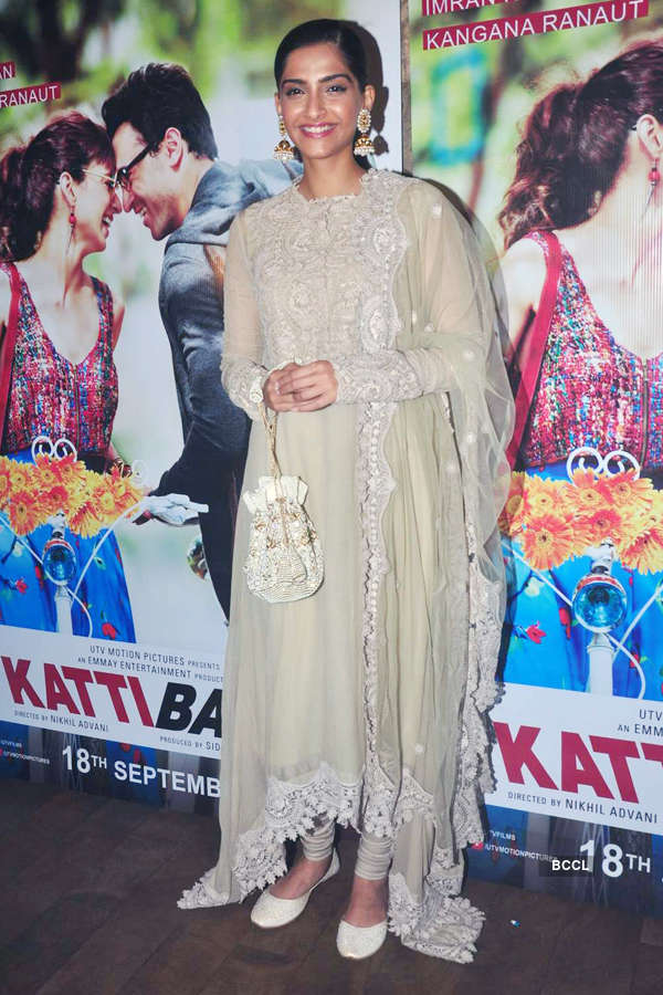Sonam Kapoor during the screening