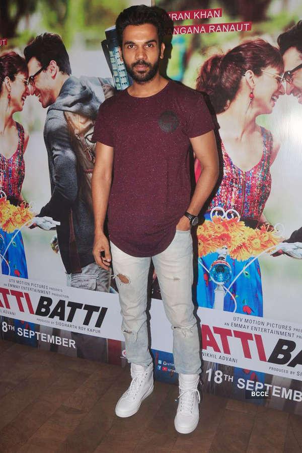 Rajkummar Rao during the screening