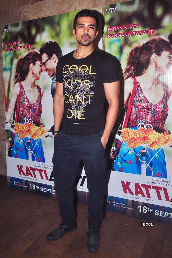 Saqib Saleem during the screening