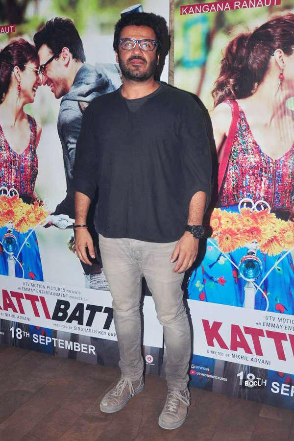Vikas Bahl during the screening