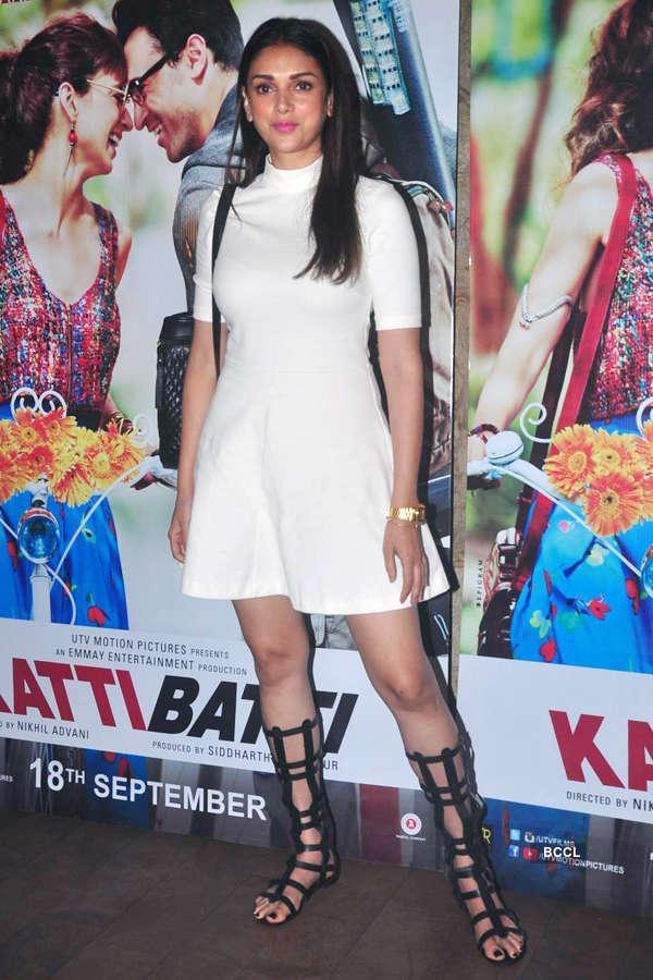 Aditi Rao Hydari during the screening