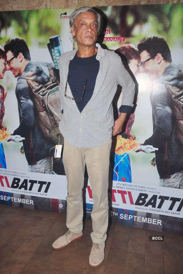 Sudhir Mishra during the screening