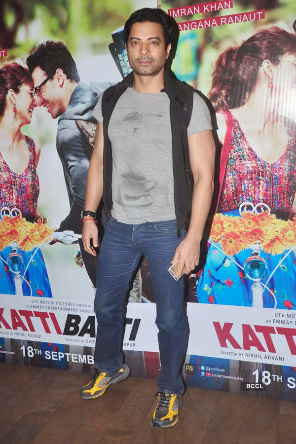 Rahul Bhat during the screening