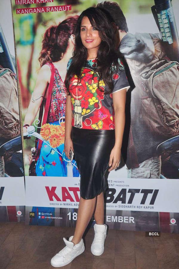 Richa Chadda during the screening