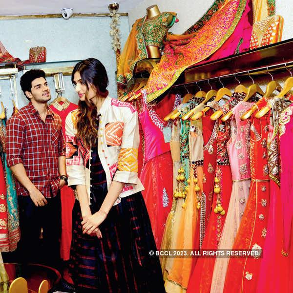 Sooraj, Athiya @ Meena Bazaar