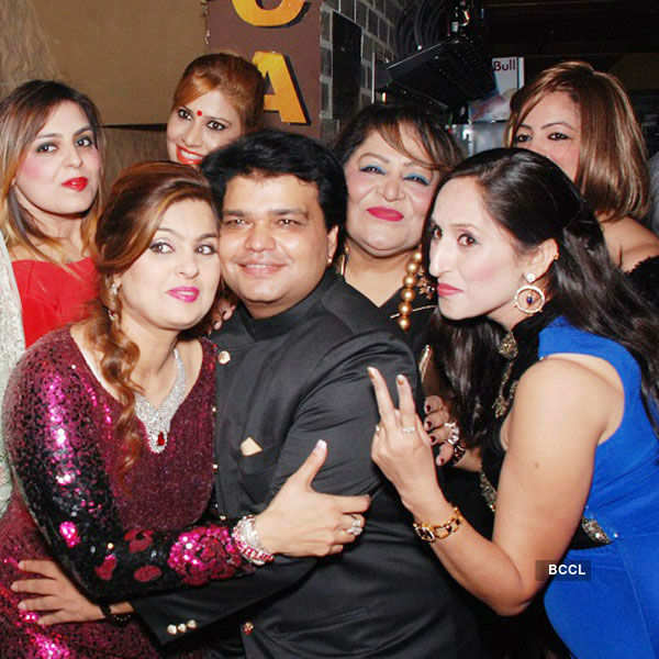 Pankaj Verma's b'day party