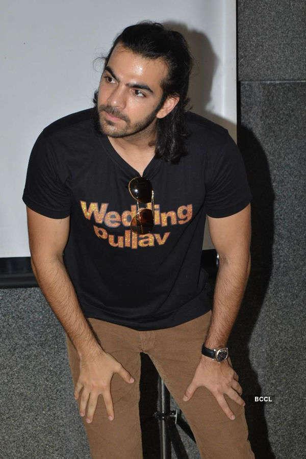 Karan V Grover promotes Wedding Pullav