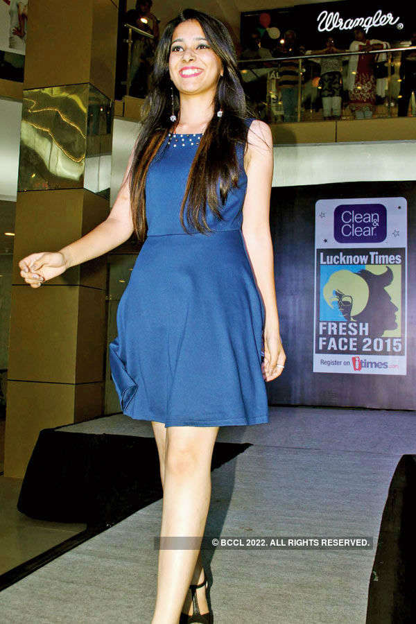 Clean & Clear Lucknow Times Fresh Face 2015