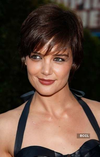 Katie Holmes started her career as a model before she got a break in the movie Dawson's Creek