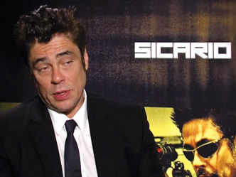 'Sicario' cast talk about film's violence