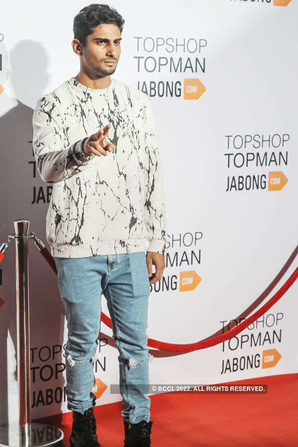 Celebs @ TopShop & Topman launch