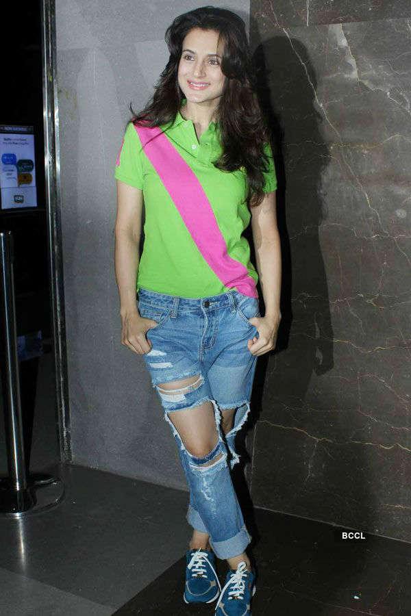 Ameesha Patel during the screening