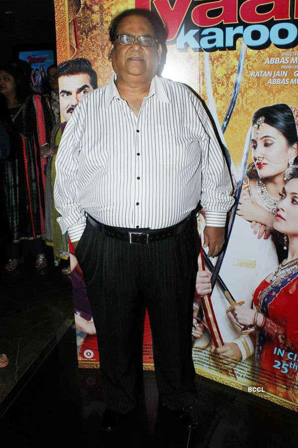 Satish Kaushik during the screening