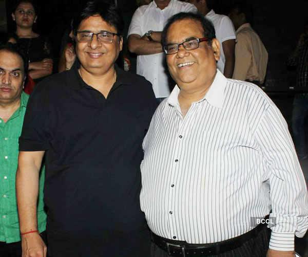 Vashu Bhagnani and Satish Kaushik