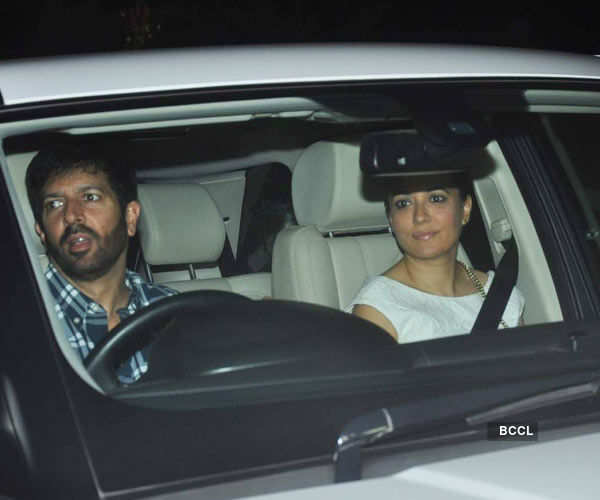 Kabir Khan and Mini Mathur arrive