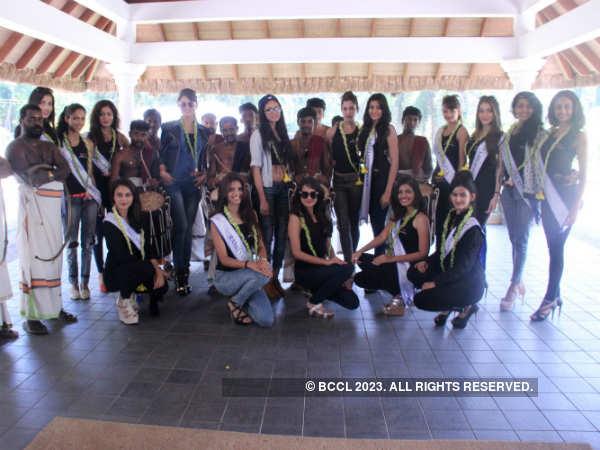 Miss Diva 2015 finalists arrive in Kochi