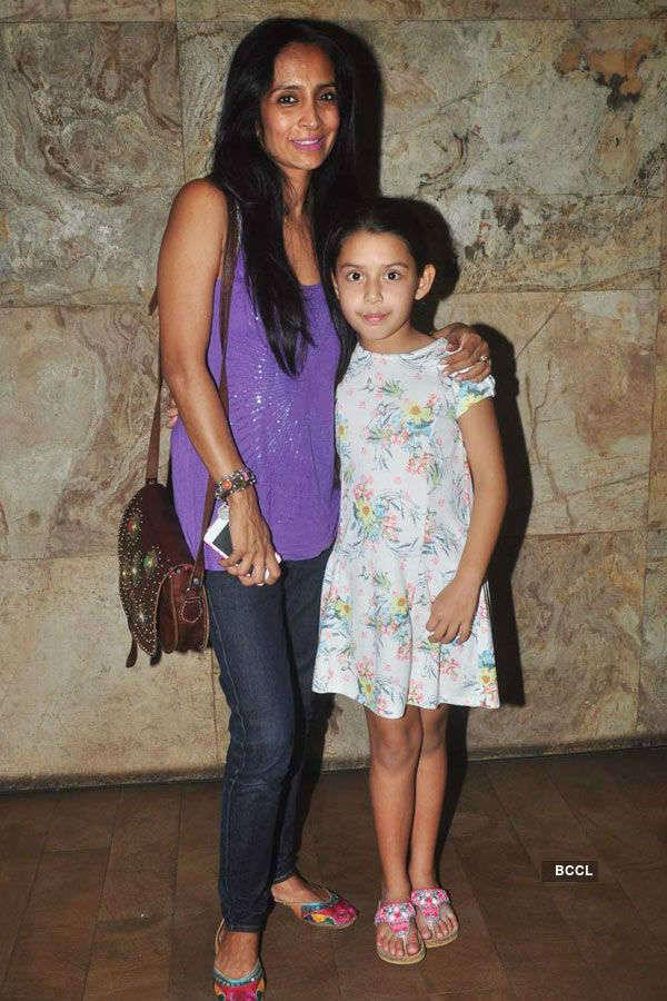 Suchitra Pillai during the screening