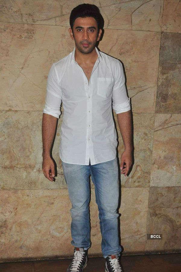Amit Sadh during the screening