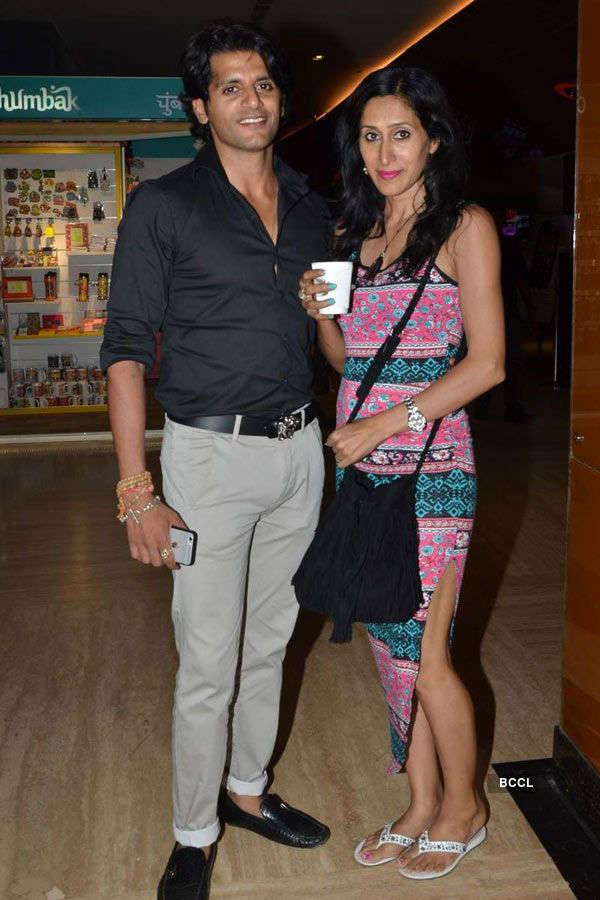 Karanvir Bohra during the screening