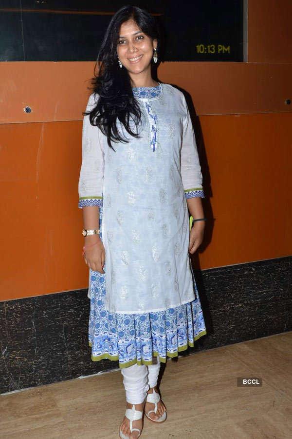 Sakshi Tanwar during the screening