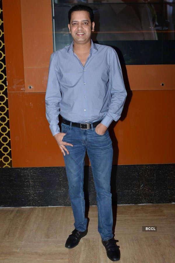 Rahul Mahajan during the screening