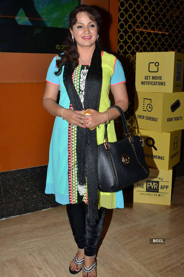 Upasna Singh during the screening