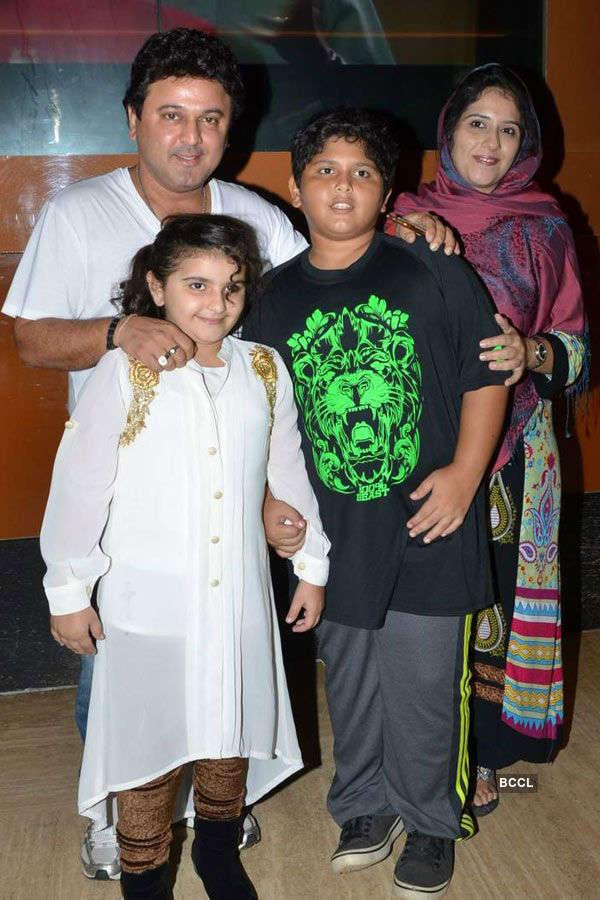Ali Asgar with family