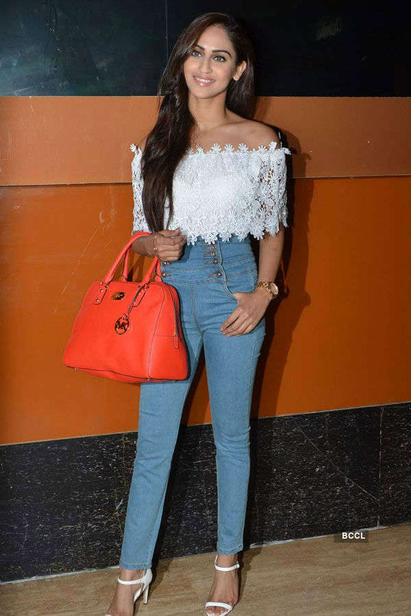 Krystle D'Souza during the screening