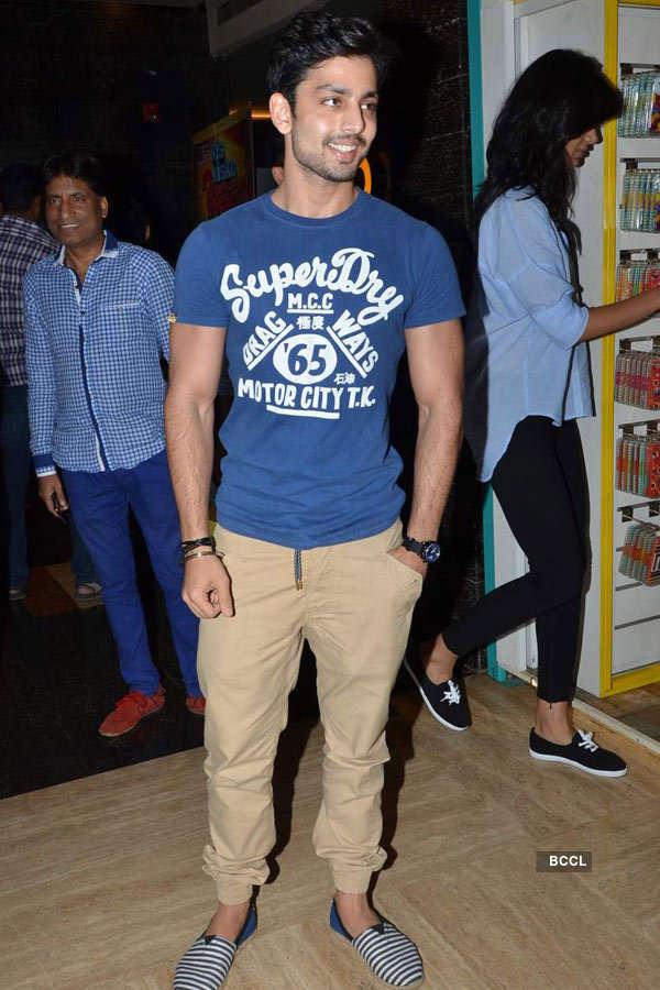 Himansh Kohli during the screening