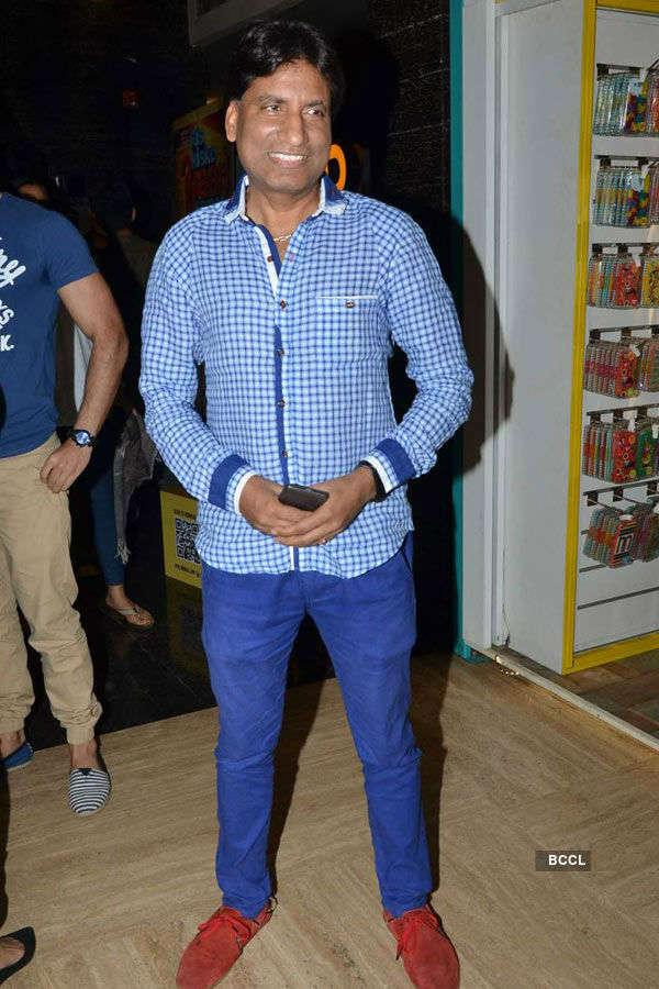 Raju Srivastav during the screening