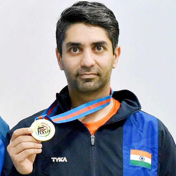 Bindra wins gold at Asian meet