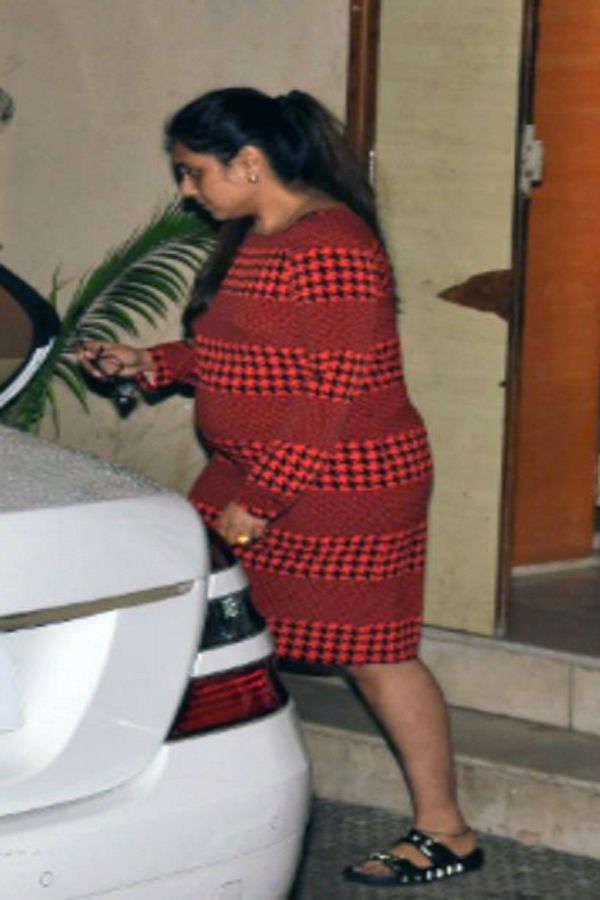 Pregnant Rani Mukerji