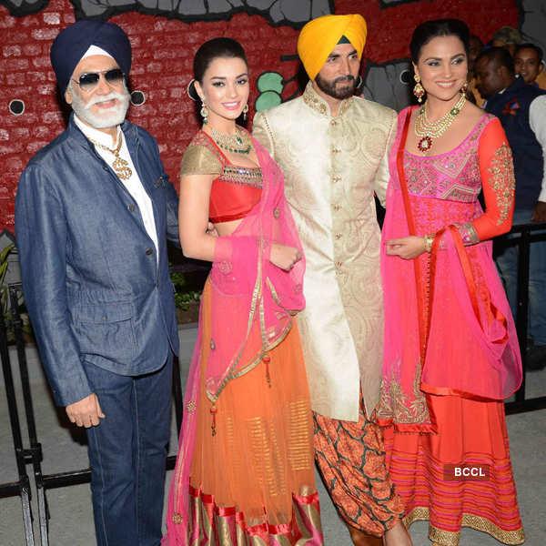 Singh Is Bliing fashion show