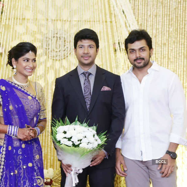 Feroz & Vijayalakshmi's wedding reception