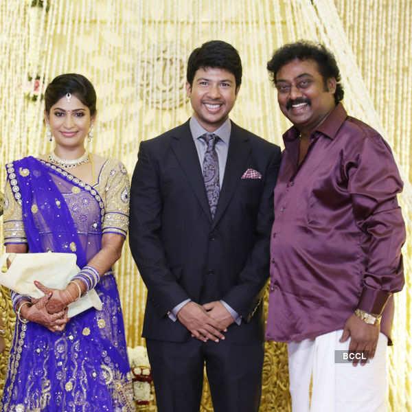 Feroz & Vijayalakshmi's wedding reception