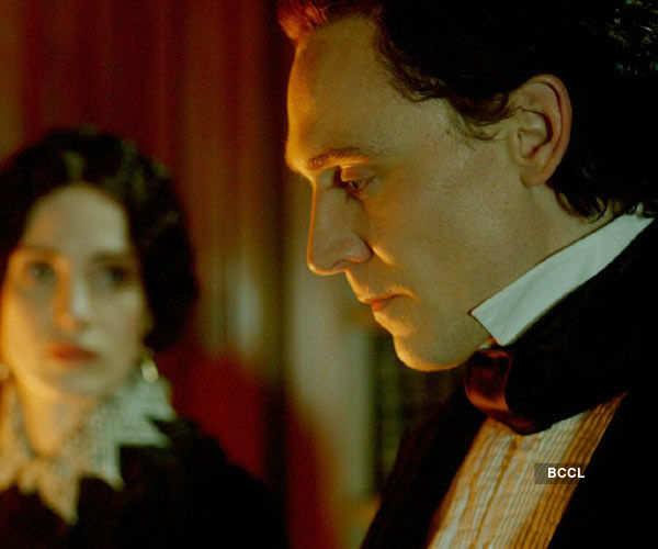 Tom Hiddleston in a still