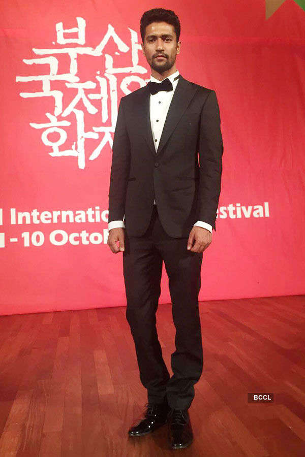 Vicky Kaushal during Busan Film Festival