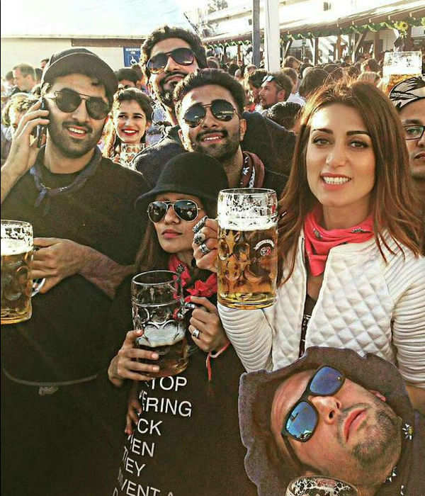 Ranbir Kapoor spotted at the world famous beer fest