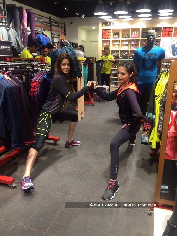 Beauty queens sweat it out in style