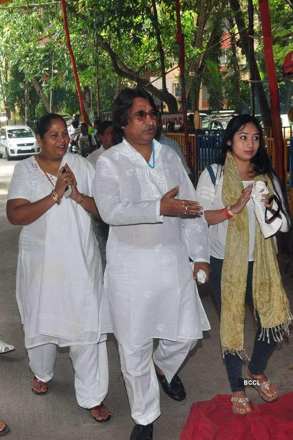Ravindra Jain's prayer meet