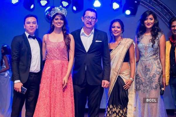 Asha Bhat judges Miss Supranational Mauritius