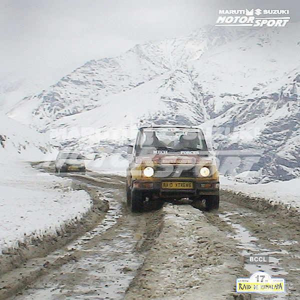 Maruti Suzuki Raid De Himalaya 2015