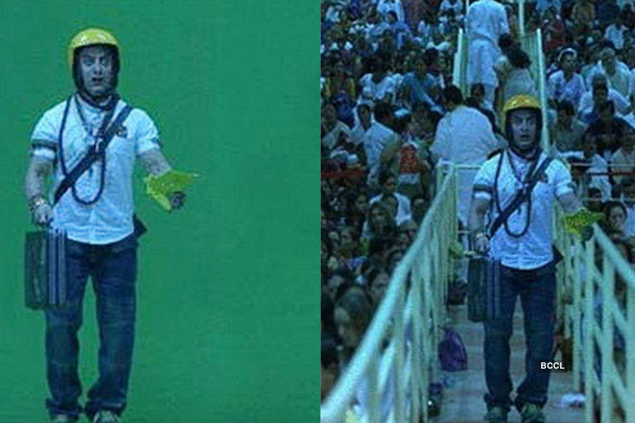 Pre and Post movie scenes Visual Effects