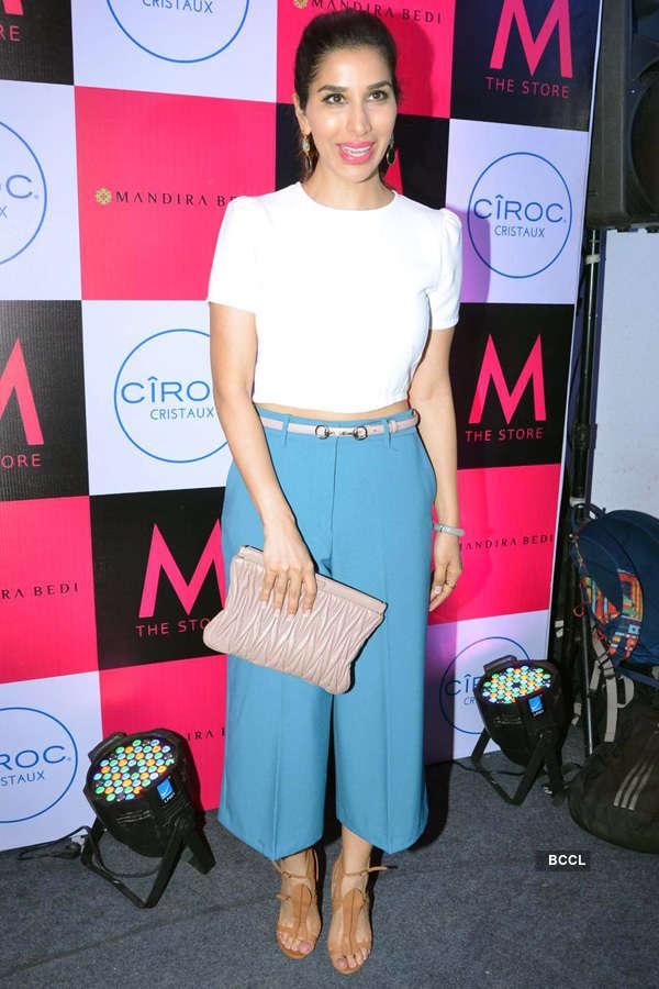 Celebs @ Mandira Bedi's store launch