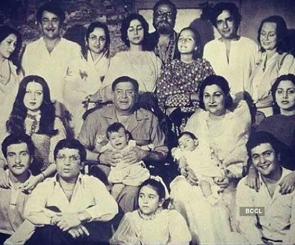 Kapoor's family photo
